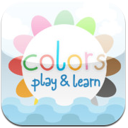 iPhone App Play & Learn Colors