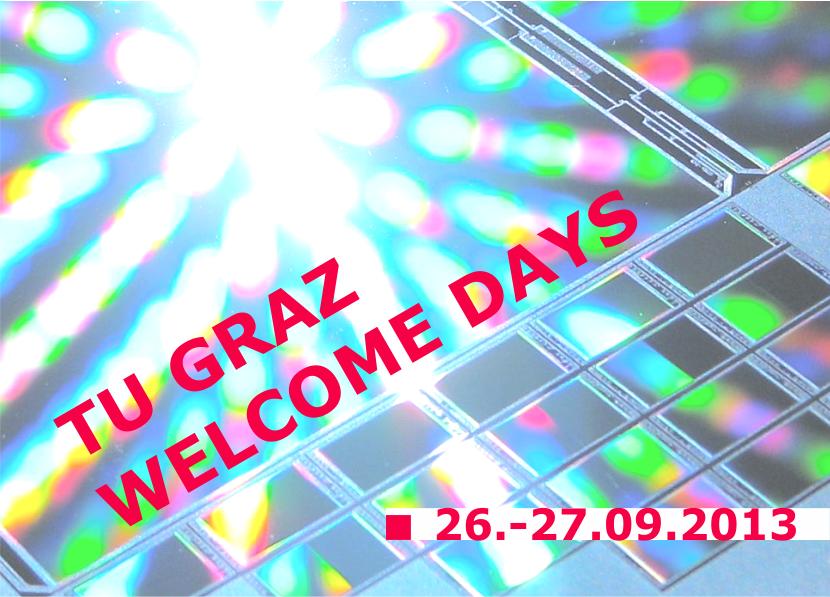 Welcome Days an der TU Graz 2013