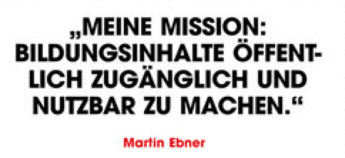 OER - Martin Ebner