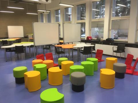 Lehrraum an der TU Graz