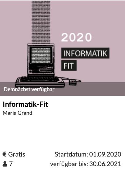 Informatik-Fit-MOOC